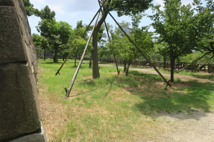 大阪城 隠し曲輪