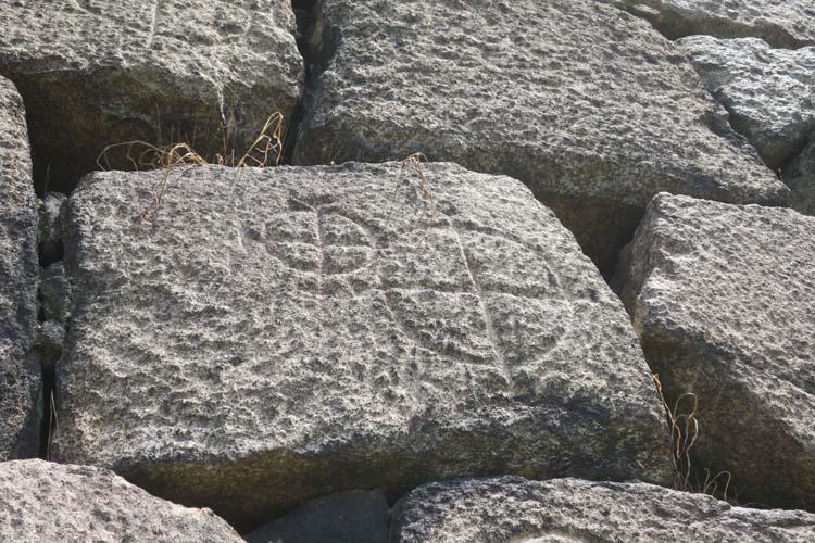 大阪城 刻印石