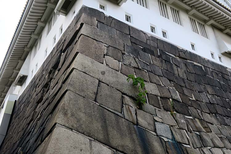 大阪城 天守台