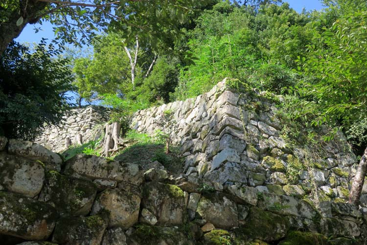 彦根城 登り石垣