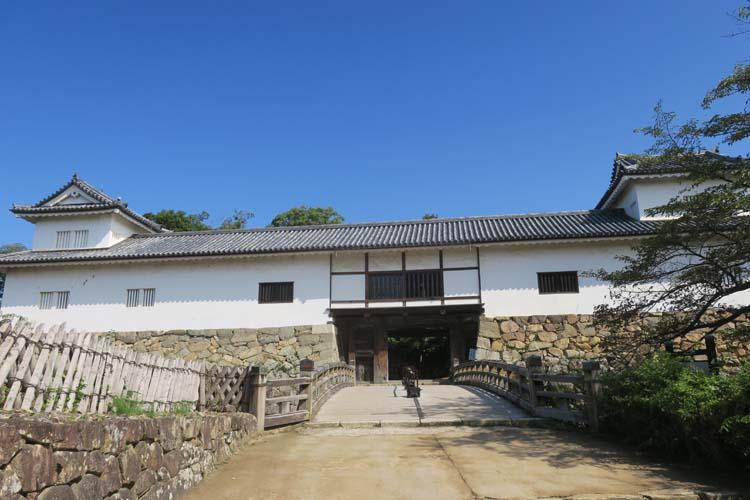 彦根城 廊下橋と天秤櫓