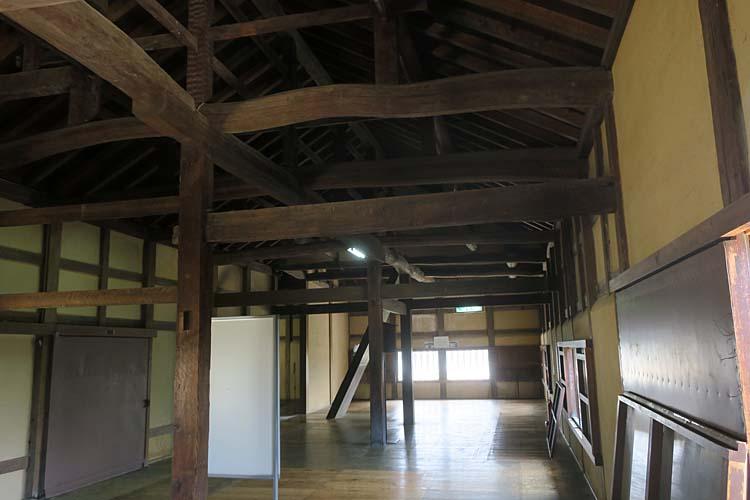 彦根城 天秤櫓内部