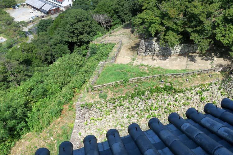 彦根城 西の丸三重櫓からの眺め