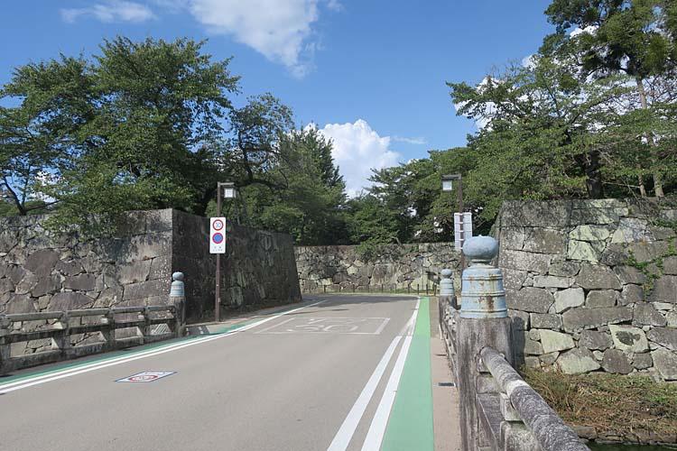 彦根城 京橋口門跡