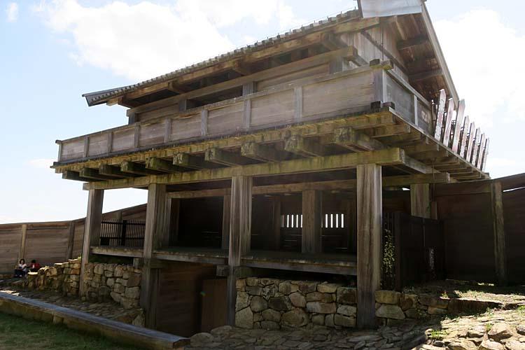 鬼ノ城 西門(内側)