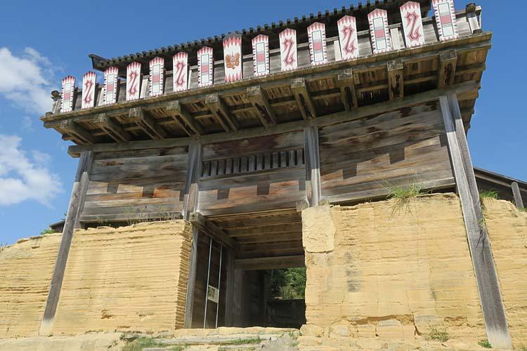 鬼ノ城 西門(外側)