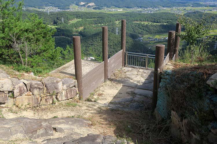 鬼ノ城 東門跡