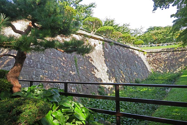 五稜郭 本塁の石垣