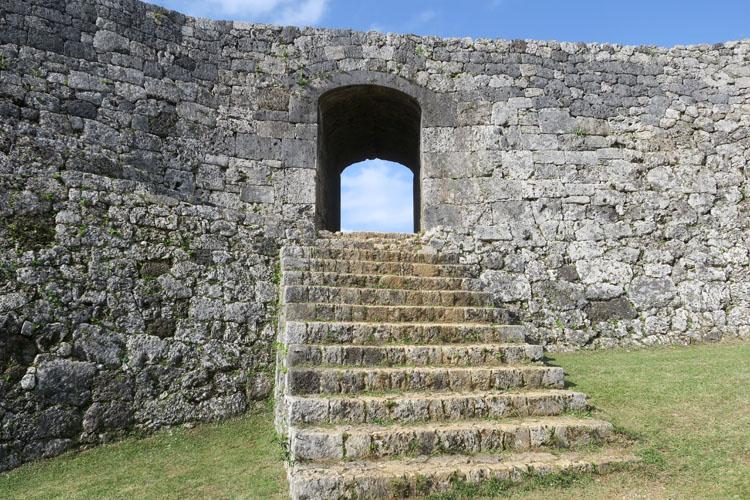 座喜味城 一の郭アーチ門