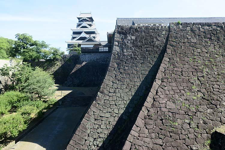 熊本城 二様の石垣
