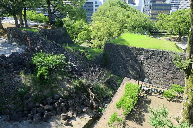 熊本城 連続外桝形