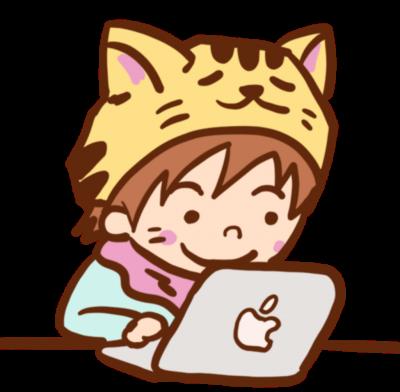 ねこひげパソコン