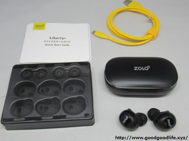 Zolo Liberty+ 同梱物