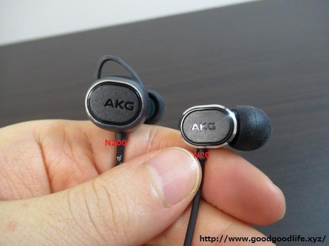 AKG N200 と N20 比較