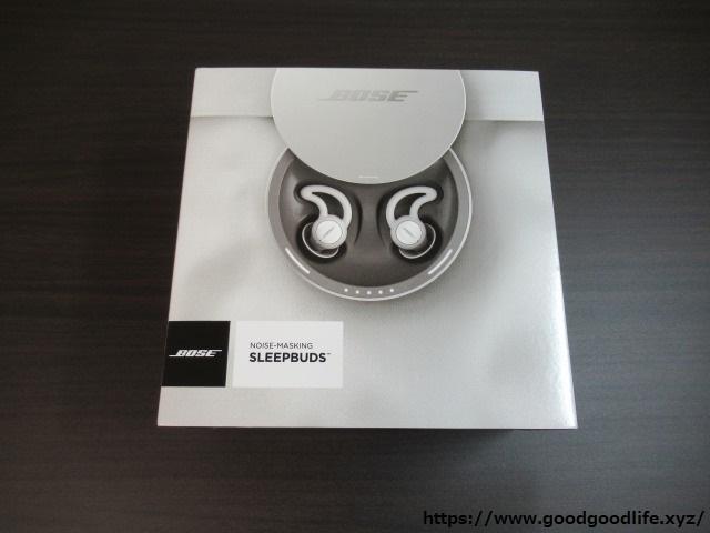 Bose noise-masking sleepbuds NMsleepbuds 外箱
