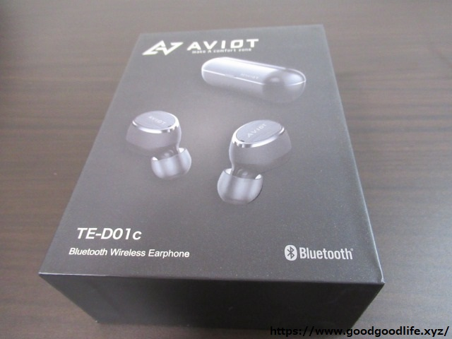 AVIOT TE-D01c 外箱