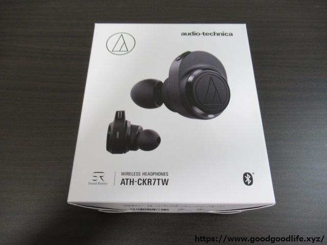 audio-technica ATH-CKR7TW 外箱