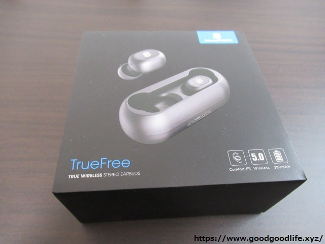 SoundPEATS TrueFree 外箱