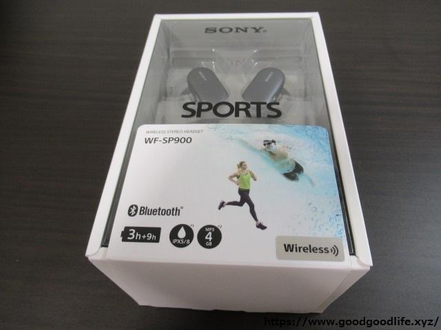 Sony WF-SP900 外箱