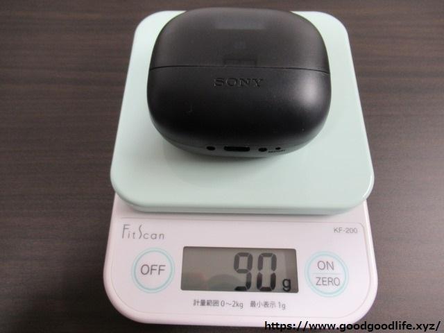 Sony WF-SP900 重さ