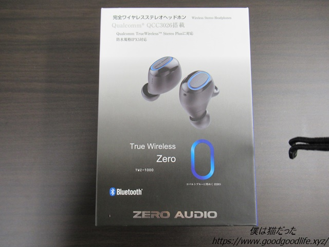 TWZ-1000 True Wireless Zero 外箱