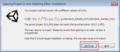 04-サンプルプロジェクトのバージョン変換の確認ダイアロ