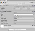 28-Unity Sprite Renderer を持つ Ball オブジェクトの Inspector