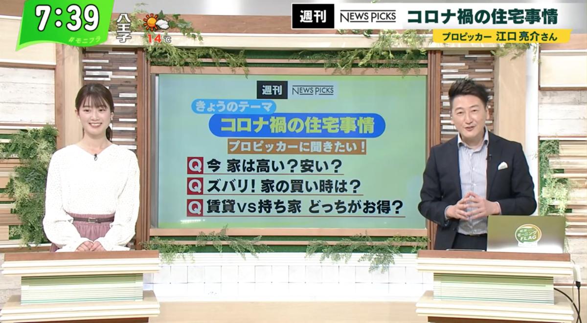 堀潤モーニングFLAG 2021年4月6日放送
