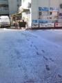 姫路ダイビングスクールで雪やコンコンなう!