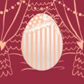 アイコン卵 ピンク