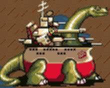 軍艦サウルス