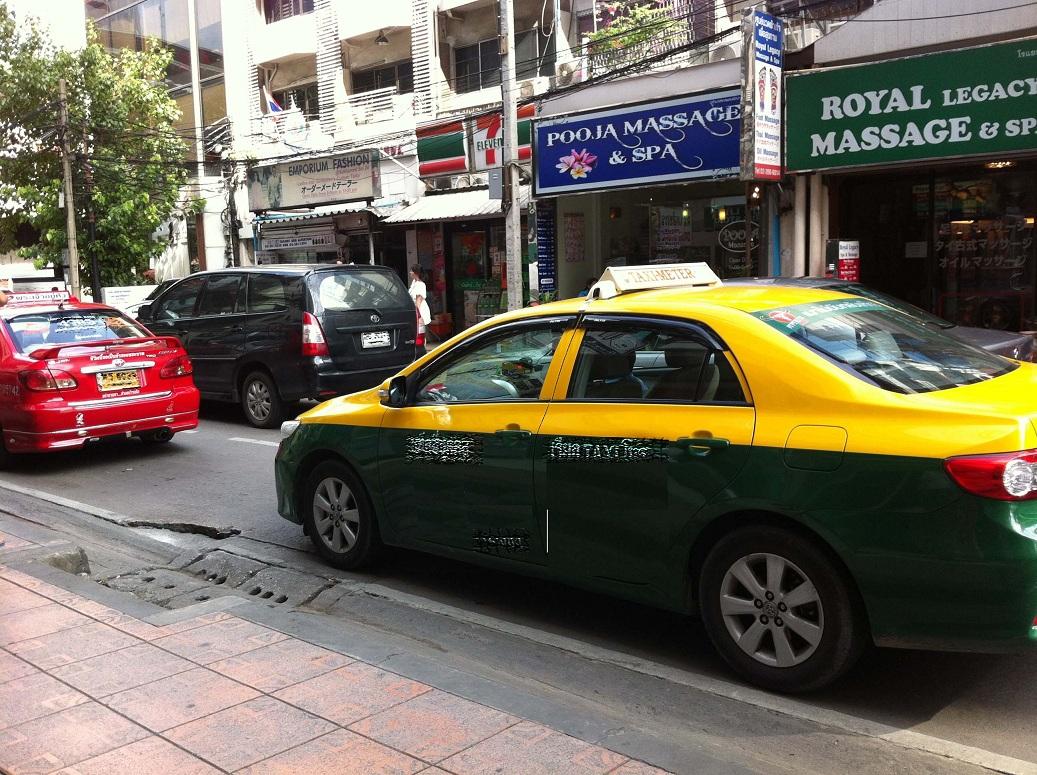 タクシー事件簿!強面運ちゃん - ちゃあむのタイ節約生活