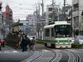 [鉄道][都電]舎人ライナーの帰り道 熊野前