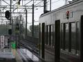 [鉄道][京王]20080419-雨の橋本駅