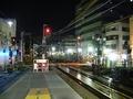 [鉄道][京王]夜の調布駅(新宿方)