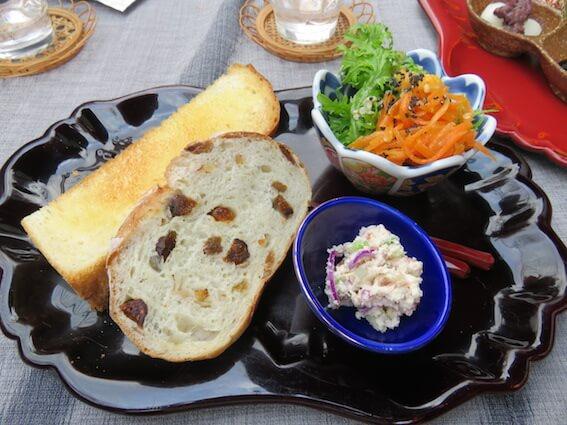天然酵母のパンの写真