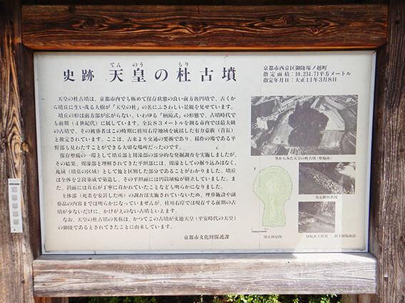 天皇ノ杜古墳の説明