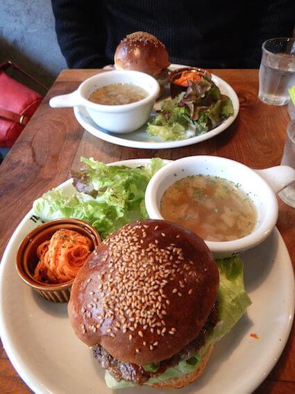 THE GRAVYのハンバーガー