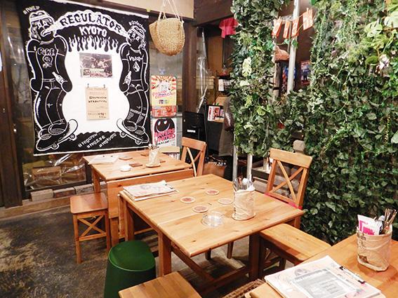 Cafe&Bar CHAM店内