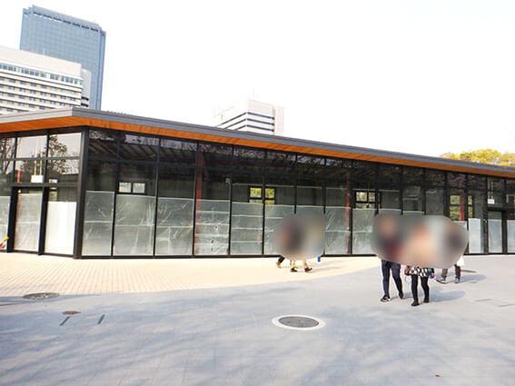 元錦城亭あとの空き店舗の写真