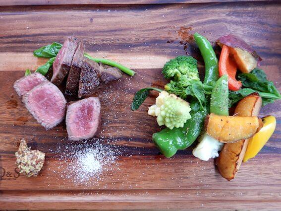 ファーマーズオリジン熟成肉のステーキ