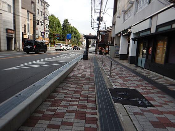 観光客が減った京都