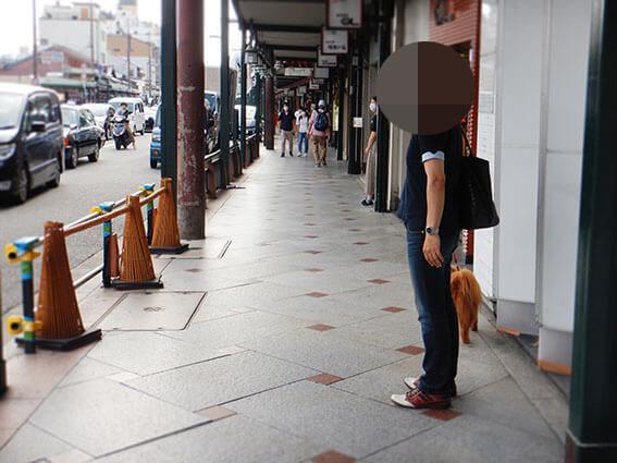 観光客が減った京都市内