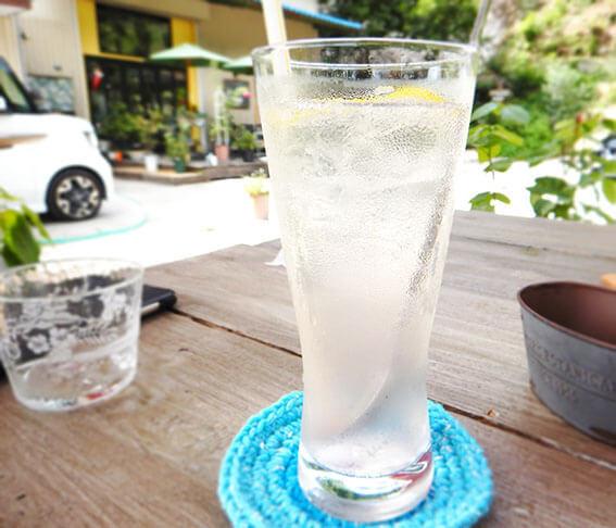 ガーデンカフェレモンのドリンク