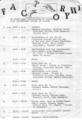 1978年10月1日 FACTORY #1, 吉祥寺マイナー - b(timetable)