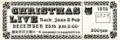 1978年12月25日Xmasコンサートチケット