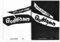 1978年 Goddamn「マイナーロッカーズ詩集」表紙,裏表紙