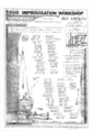 1988年3月20,21日 DUO IMPROVISATION WORKSHOP \ 横浜大桟橋ホール