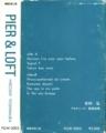 """1983年 吉村 弘 """"PIER & LOFT"""" - (紙製カセットケース)- b  \  複製技術工房"""