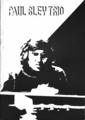 1976年7月23日〜8月4日 ポール・ブレイ・トリオ - (プログラム / 表紙)